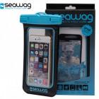 Vodotěsné pouzdro do 25 m pro Smartphone modré
