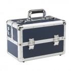 Kadeřnický kufr Leisure tmavě modrý