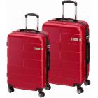 Cestovní kufry sada Check.In Berlin 2dílná červená